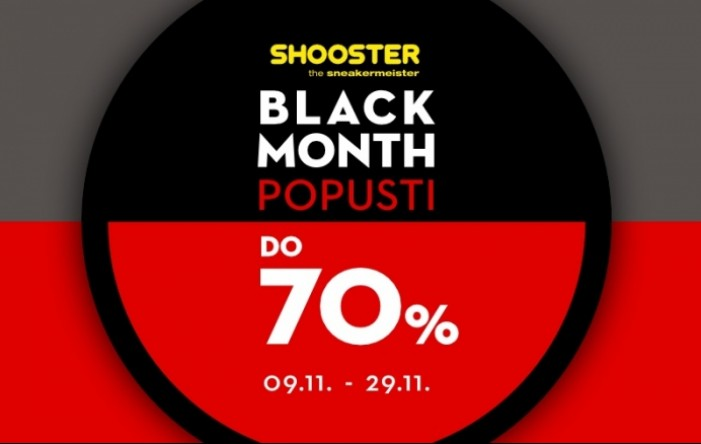Shooster i Timberland Black Month popusti do 70%!