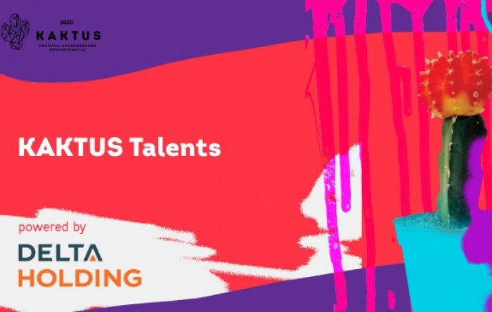 Otvoren konkurs KAKTUS Talents Award (powered by Delta Holding)