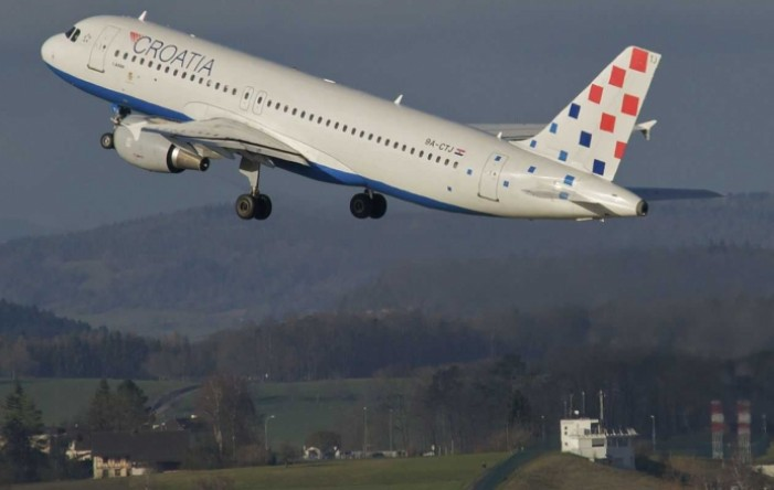 Reducirani red letenja Croatia Airlinesa u siječnju