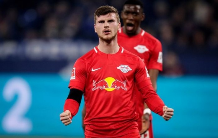 Mainz - RB Leipzig 0-5, hat-trick Wernera